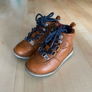Baby Gap Leather Hiking Boots